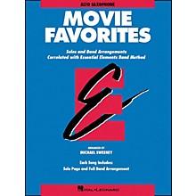 Hal Leonard Movie Favorites Alto Saxophone
