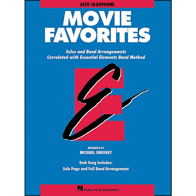 Hal LeonardMovie Favorites Alto Saxophone