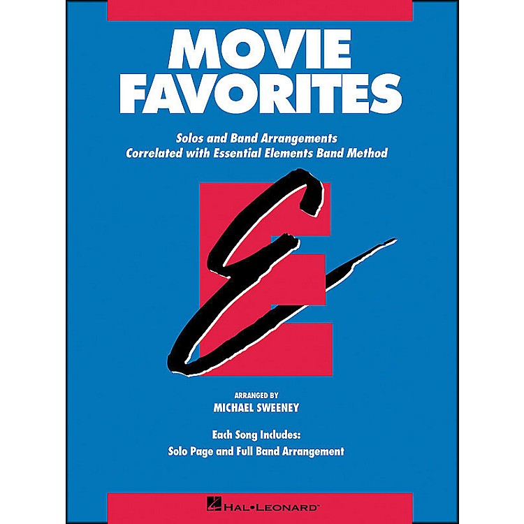 Hal LeonardMovie Favorites Baritone Saxophone
