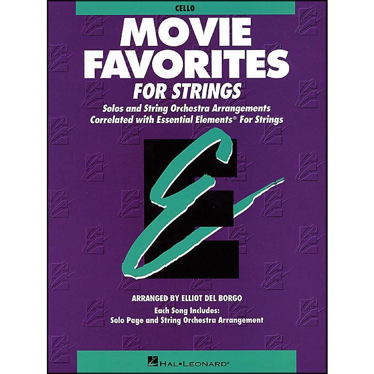 Hal LeonardMovie Favorites Cello Essential Elements