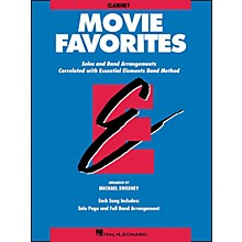 Hal Leonard Movie Favorites Clarinet