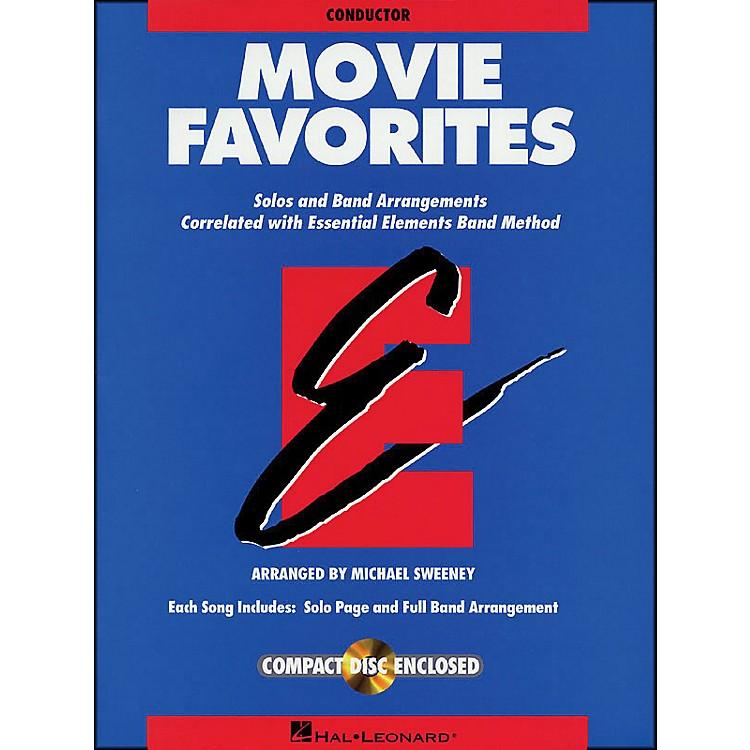 Hal LeonardMovie Favorites Conductor Book/CD