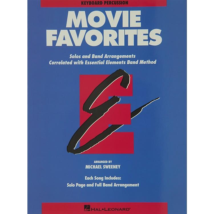 Hal LeonardMovie Favorites Keyboard Percussion