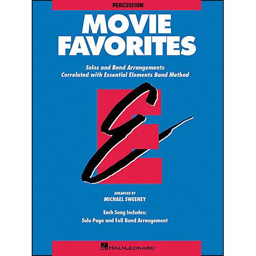 Hal Leonard Movie Favorites Percussion