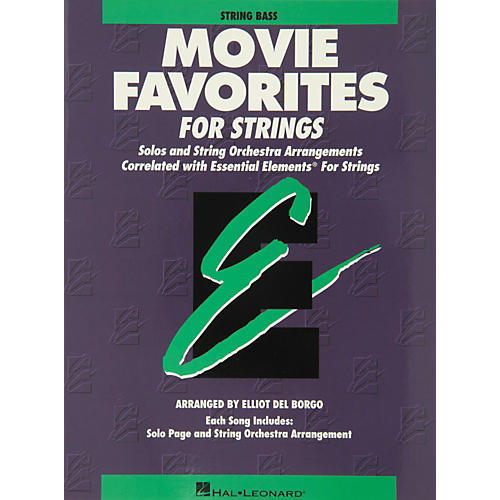Hal Leonard Movie Favorites String Bass Essential Elements-thumbnail