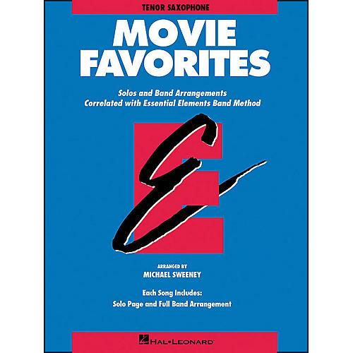 Hal Leonard Movie Favorites Tenor Saxophone-thumbnail