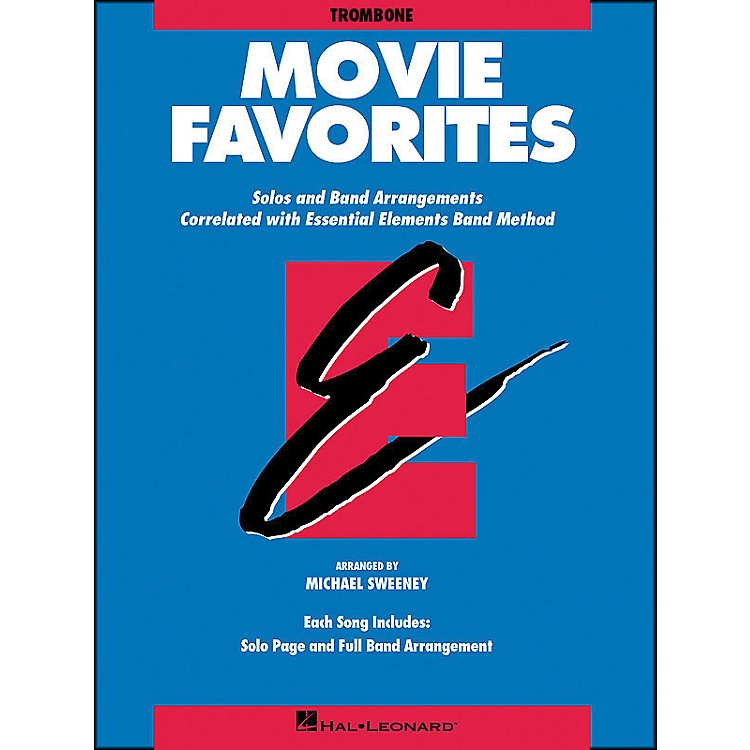 Hal Leonard Movie Favorites Trombone