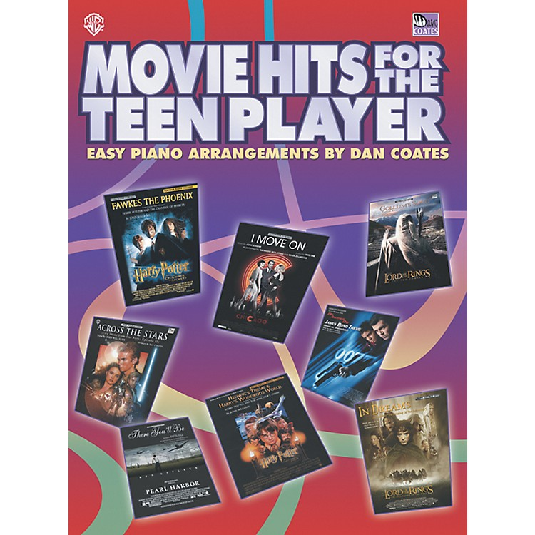 AlfredMovie Hits for the Teen Player Easy Piano