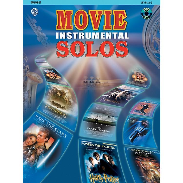 AlfredMovie Instrumental Solos for Trumpet Book/CD