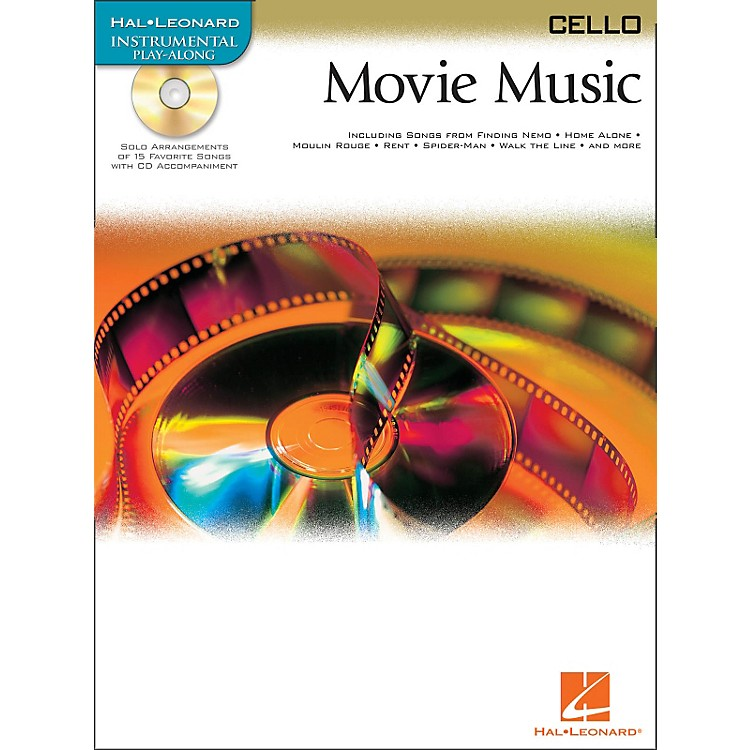 Hal Leonard Movie Music for Cello Book/CD