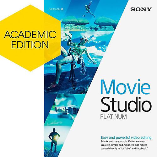 Magix Movie Studio 13 Platinum - Academic Software Download