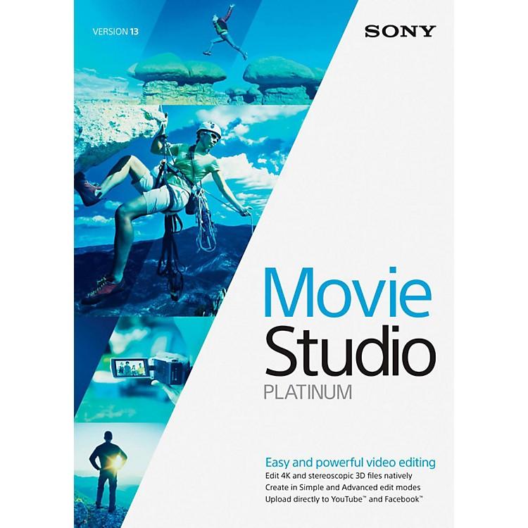 SonyMovie Studio 13 PlatinumSoftware Download