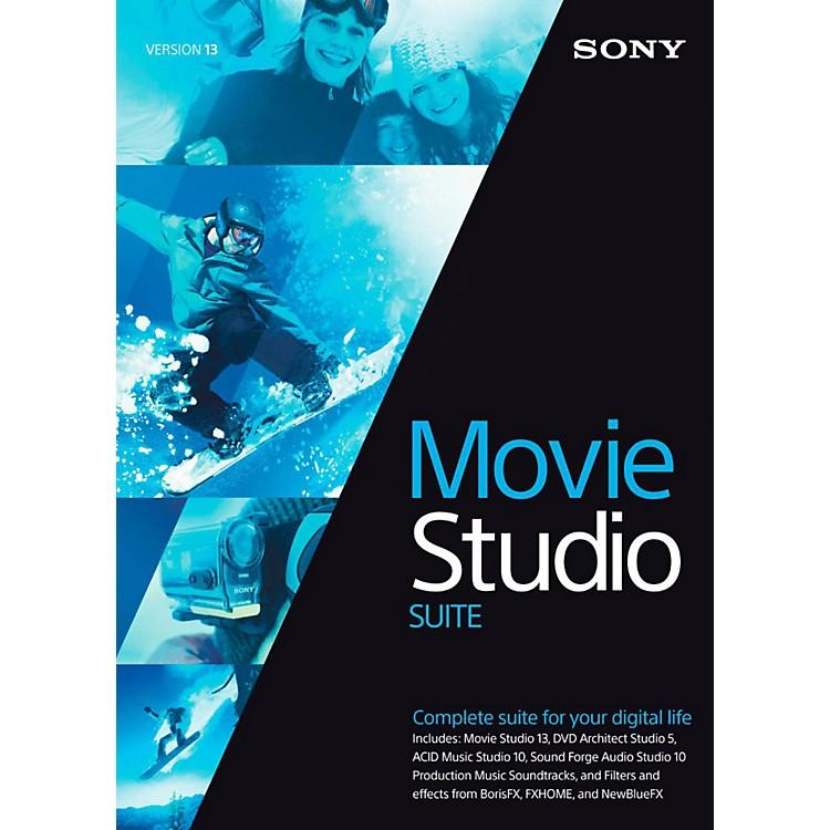 SonyMovie Studio 13 SuiteSoftware Download