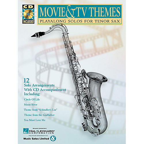 Hal Leonard Movie & TV Themes (Play-Along Solos) Instrumental Play-Along Series Book with CD-thumbnail