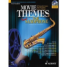 Schott Movie Themes for Tenor Saxophone Instrumental Play-Along Series