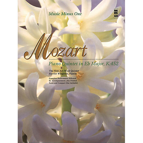 Music Minus One Mozart - Piano Quintet in Eb Major, K.452 Music Minus One Softcover with CD by Wolfgang Amadeus Mozart-thumbnail