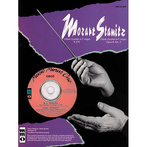 Music Minus One Mozart - Quartet in F Maj, KV370 & Stamitz - Quartet in F Maj, Op 8, No 3 Music Minus One BK/CD-thumbnail