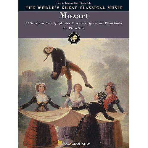 Hal Leonard Mozart - Simplified Piano Solos World's Greatest Classical Music Series (Intermediate)-thumbnail