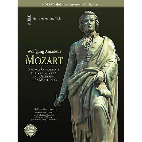 Music Minus One Mozart - Sinfonia Concertante in E-flat, KV364 Music Minus One Series Softcover with CD-thumbnail