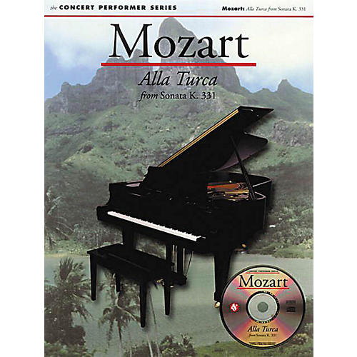 Music Sales Mozart: Alla Turca from Sonata (K331) (No. 32) Music Sales America Series Softcover with CD