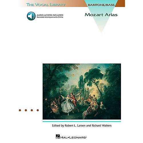Hal Leonard Mozart Arias for Bass Book/CD-thumbnail