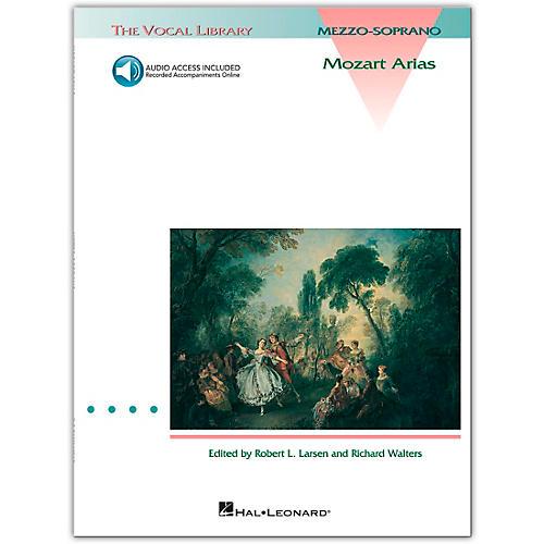 Hal Leonard Mozart Arias for Mezzo Soprano Book/CD