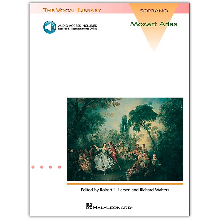Hal Leonard Mozart Arias for Soprano Book/CD