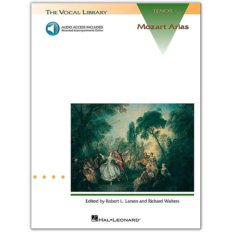 Hal LeonardMozart Arias for Tenor Voice Book/CD Pkg