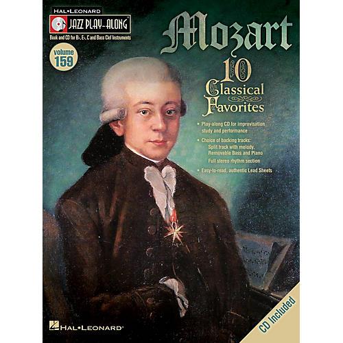 Hal Leonard Mozart (Jazz Play-Along Volume 159) Jazz Play Along Series Softcover with CD-thumbnail