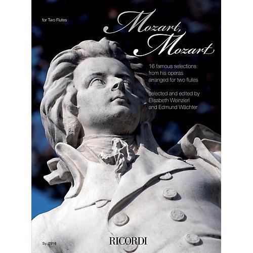 Ricordi Mozart, Mozart Ricordi Germany Series Softcover Composed by Wolfgang Amadeus Mozart-thumbnail