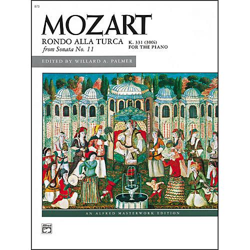 Alfred Mozart Rondo allay Turco (from Sonata No. 11  K. 331/300i) Late Intermediate Piano Sheet