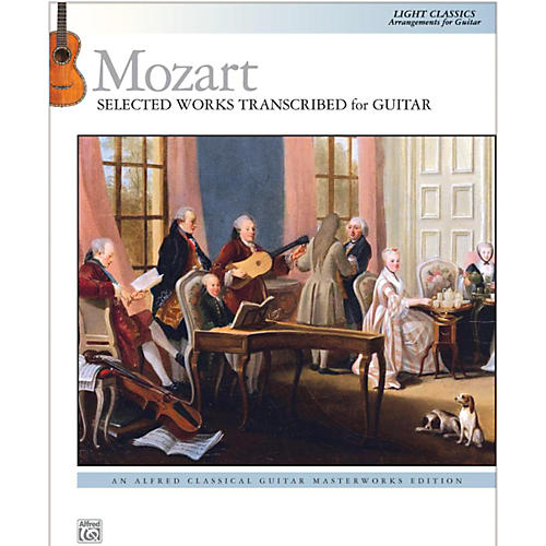 Alfred Mozart  Selected Works Transcribed for Guitar Book-thumbnail