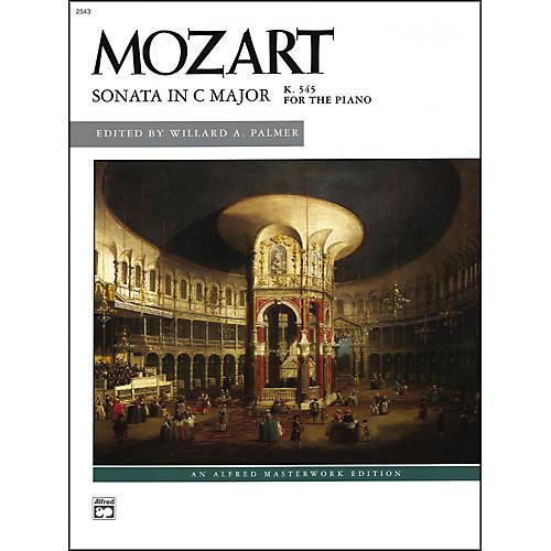 Alfred Mozart Sonata in C K. 545 (Complete) Late Intermediate Piano
