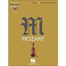 Hal Leonard Mozart: Violin Concerto In G Major, Kv 216 Classical Play-Along Book/CD Vol. 15