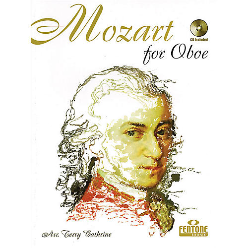 Fentone Mozart for Oboe (Classical Instrumental Play-Along (Book/CD Pack)) Fentone Instrumental Books Series-thumbnail