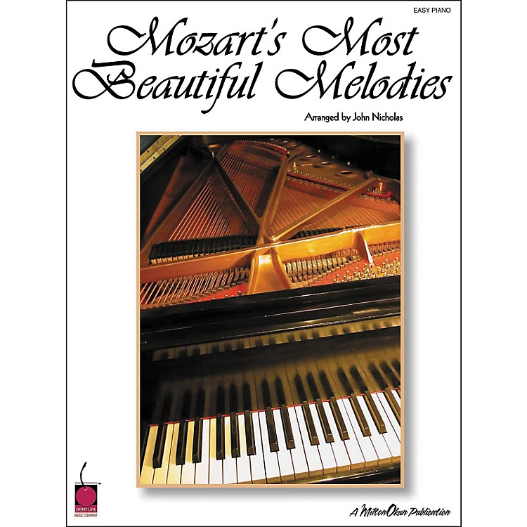 Cherry Lane Mozart's Most Beautiful Melodies For Easy Piano