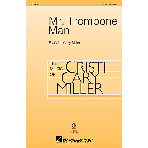 Hal Leonard Mr. Trombone Man 2-Part composed by Cristi Cary Miller-thumbnail