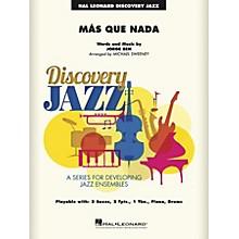 Hal Leonard Más Que Nada Jazz Band Level 1-2 Arranged by Michael Sweeney