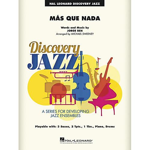 Hal Leonard Más Que Nada Jazz Band Level 1-2 Arranged by Michael Sweeney-thumbnail