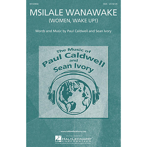 Caldwell/Ivory Msilale Wanawake (Women, Wake Up!) SSA composed by Paul Caldwell-thumbnail