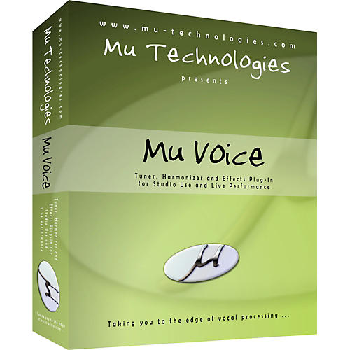 Mu Technologies Mu Voice Vocal Plug-In