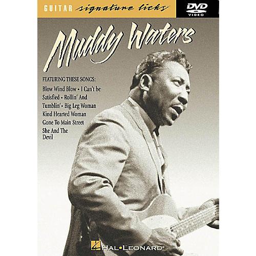 Hal Leonard Muddy Waters Guitar Signature Licks (DVD)