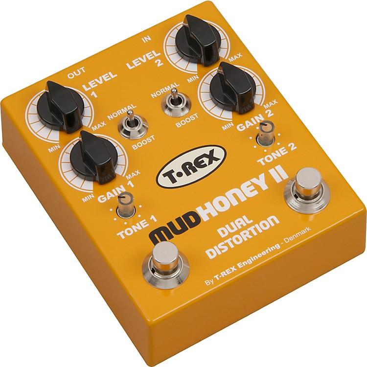 T-Rex EngineeringMudhoney II Distortion Guitar Effects PedalYellow