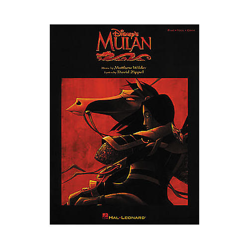 Hal Leonard Mulan Piano, Vocal, Guitar Songbook