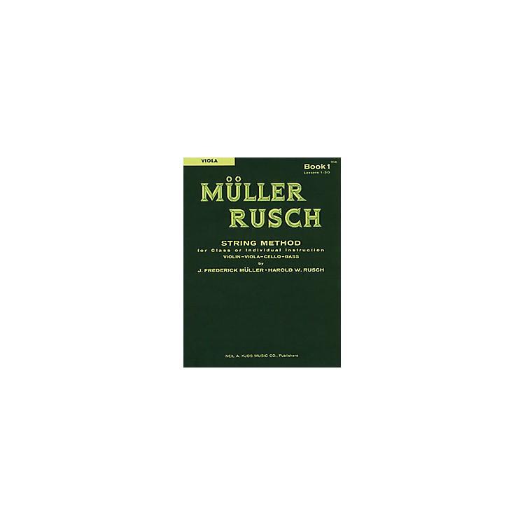 KJOSMuller-Rusch String Method 1 Viola Book