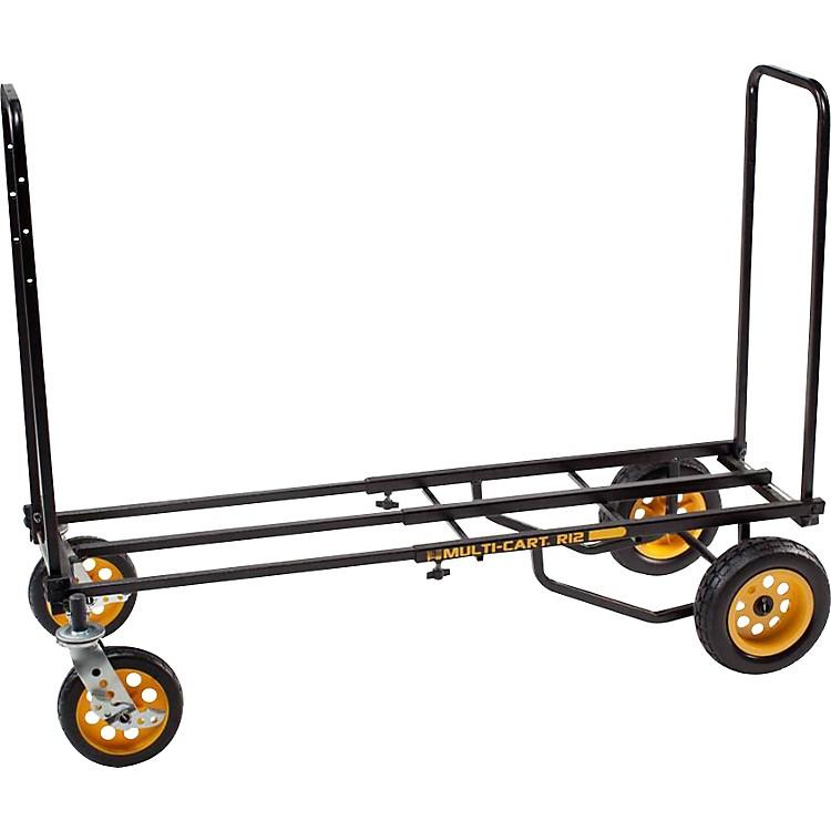 Rock N RollerMulti-Cart 8-in-1 Equipment Transporter CartBlack Frame/Yellow WheelsAll-Terrain