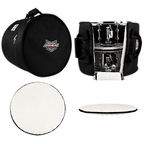 Ahead Multi Snare Case with 2 Stackers 16 x 14 Inch