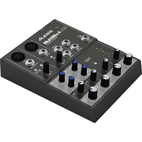 Alesis MultiMix 4 USB Compact Mixer-thumbnail