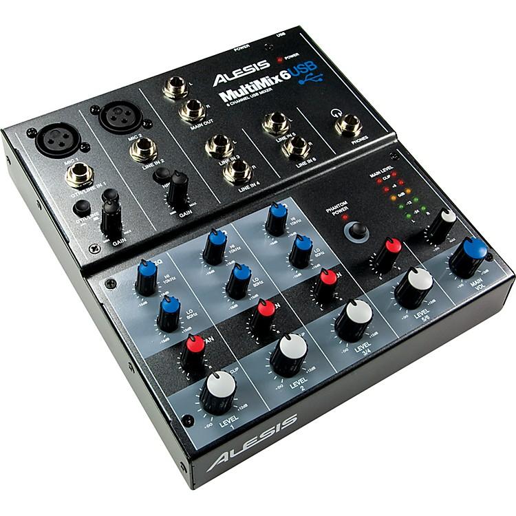 AlesisMultiMix 6 USB Mixer