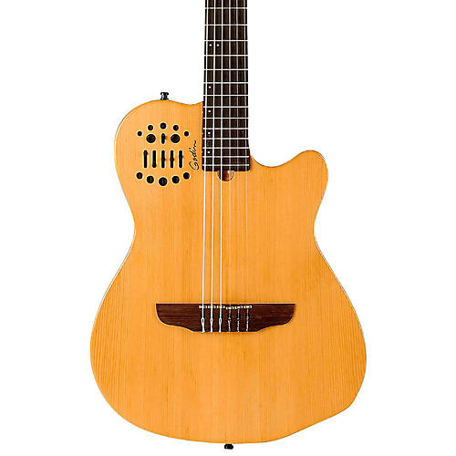 godin multiac acs nylon string sa acoustic electric guitar semi gloss natural musician 39 s friend. Black Bedroom Furniture Sets. Home Design Ideas